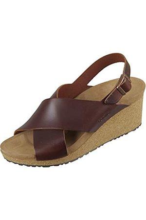 Papillio Damen Samira Cuir Naturel Sandale mit Absatz