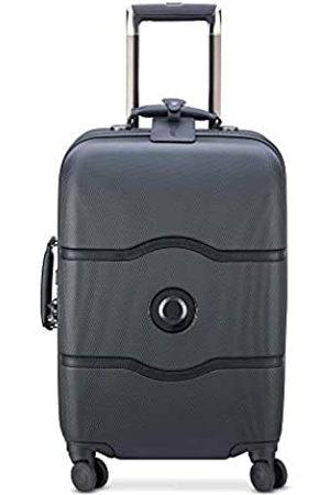 Delsey DELSEY Paris Chatelet Hard+ Hardside Carry-on Spinner Suitcase, Black