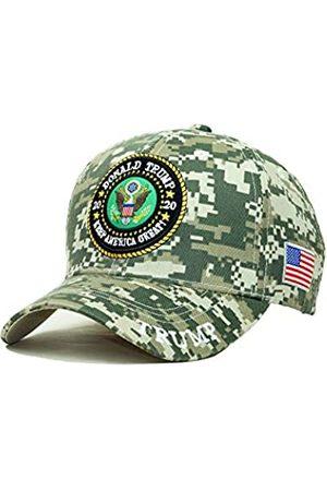 Bingoo Trump 2020 Keep America Great Stickerei Kampagne Hut USA Baseball Cap - - Einheitsgröße