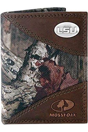 ZEP-PRO NCAA LSU Tigers Zep-Pro Mossy Oak Nylon und Leder Trifold Concho Wallet Einheitsgröße