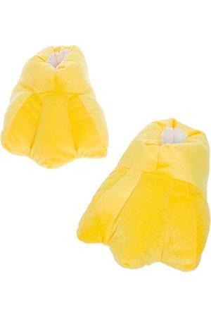 Silver Lilly Entenfüße Hausschuhe – Plüschtier Kostüm Hausschuhe mit Komfortschaum
