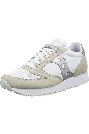 Saucony Unisex-Erwachsene Jazz Original Vintage White/Silver Leichtathletik-Schuh, clanc/Argent