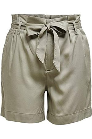 Only ONLY Female Shorts High Waist 36Silver Sage