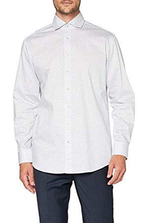 Seidensticker Herren Business Hemd - Bügelleichtes Hemd - Comfort Fit - Langarm - Kent-Kragen - 100% Baumwolle