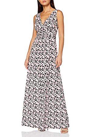 Gina Bacconi Damen Women's Kelina Geometric Maxi Dress Cocktailkleid