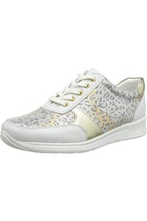Lotus Damen Florence Hohe Sneaker, (White Wz)