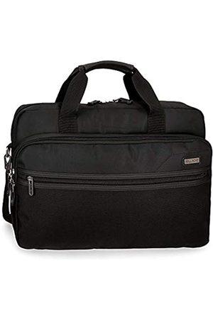 Roll Road Roll Road Stock Anpassbare Laptop-Aktentasche mit zwei Fächern 42x30x8 cms Polyester 15