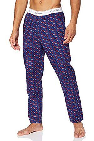 Calvin Klein Herren Sleep Pant Hose, Wolke Geo_Chino