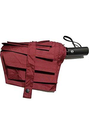 Unbekannt Kompakter Reise-Regenschirm, winddicht, faltbar, 8 Rippen, automatisches Öffnen und Schließen