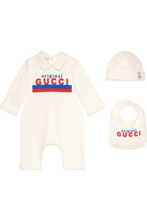 """Gucci Baby Baby-Geschenkset mit """"Original """"-Print"""