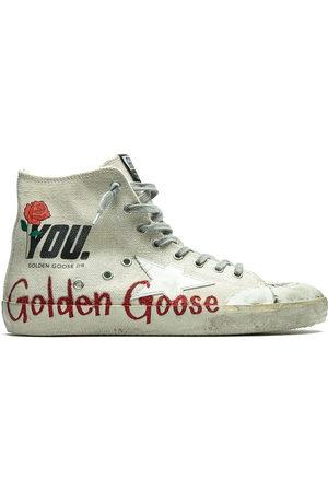 Golden Goose Francy' High-Top-Sneakers - Nude