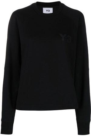 Y-3 Logo-print crew-neck sweatshirt