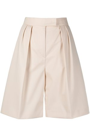 Msgm Knielange Taillenshorts - Nude