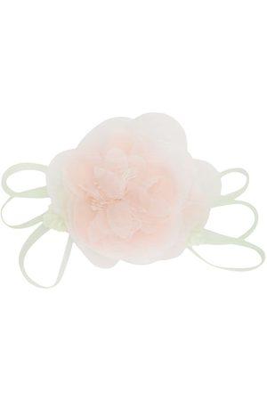 Piccola Ludo Brosche mit Blumenapplikation