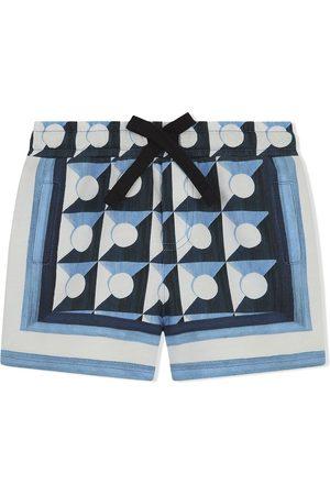 Dolce & Gabbana Shorts mit geometrischem Print