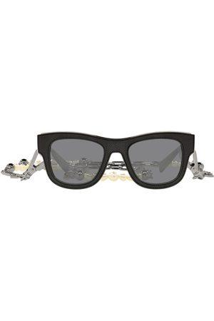 Dolce & Gabbana Eyewear Herren Sonnenbrillen - Sonnenbrille mit Zierkette