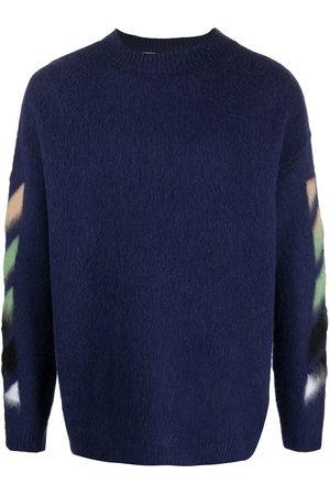 OFF-WHITE Pullover mit Intarsienmuster