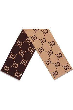 Gucci Herren Schals - Seidenschal mit Logo