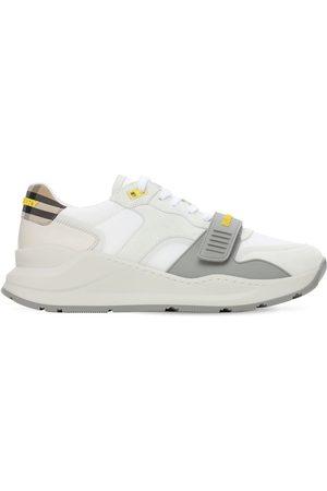 """Burberry Sneakers Aus Leder Und Technostoff """"ramsey"""""""