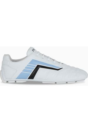 Prada White/light blue Rev sneakers