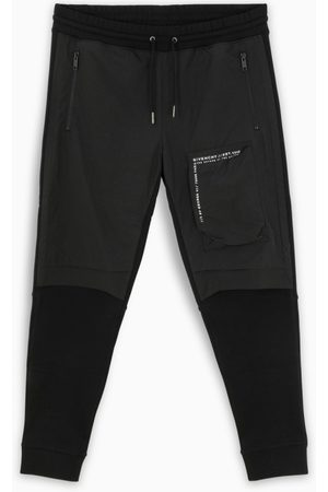 Givenchy Black joggers with logoed patch