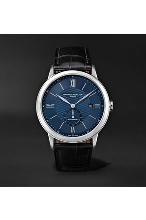 Baume & Mercier Classima Automatic 42mm Stainless Steel and Alligator Watch, Ref. No. 10480