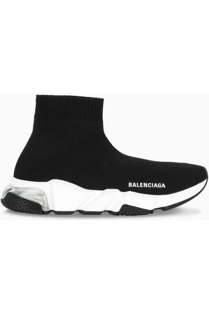 Balenciaga Damen Sneakers - Black/white Speed Clear Sole sneakers