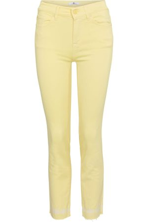 7 for all Mankind Mid-Rise Skinny Jeans Roxanne