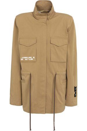 OFF-WHITE Damen Outdoorjacken - Jacke aus Gabardine