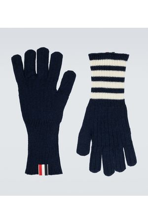 Thom Browne Handschuhe aus Kaschmir