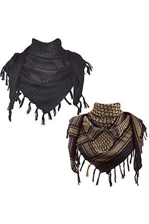 Explore Land Schal aus Baumwolle mit Shemagh-Motiv - - Einheitsgröße