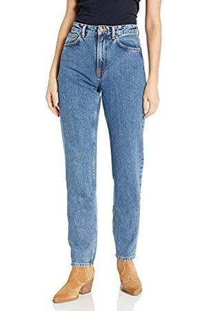 Nudie Jeans Damen Breezy Britt Friendly Blue Jeans