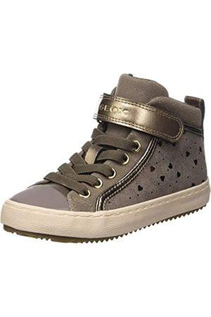 Geox Geox J Kalispera Girl I Sneaker, (Dark Beige)