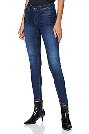 JDY Damen NEWNIKKI Life REG SKN MD BL DNM NOOS Jeans, Medium Blue Denim