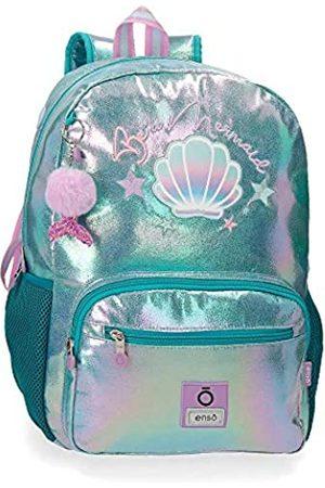 Enso Enso Be a Mermaid Anpassbarer Schulrucksack 32x42x14 cms Polyester 15
