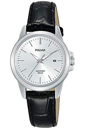 Pulsar Pulsar Quarz Damen-Uhr Edelstahl mit Lederband PH7509X1