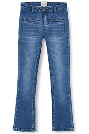 Noppies Noppies Mädchen G Flared fit Pants Citrusdal Jeans, Mid Blue Denim-P114