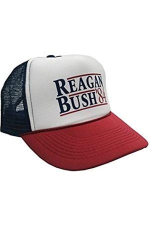P&B Reagan Bush '84 Kampagne Verstellbare Unisex-Erwachsene Einheitsgröße Hat Cap - - Einheitsgröße