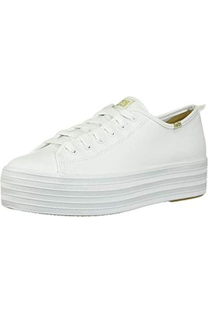 Keds Damen Triple UP Leather Sneaker, White