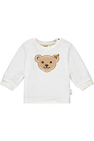 Steiff Steiff Baby-Unisex mit süßer Teddybärapplikation Sweatshirt GOTS