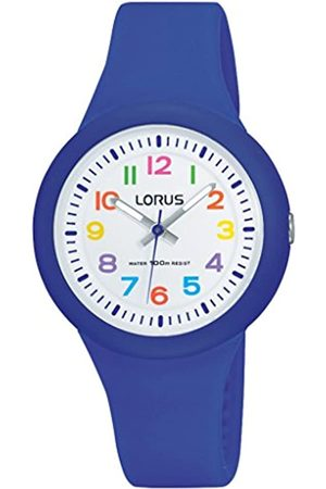 Lorus Lorus Kids Mädchen-Uhr Edelstahl und Kunststoff mit Silikonband RRX45EX9