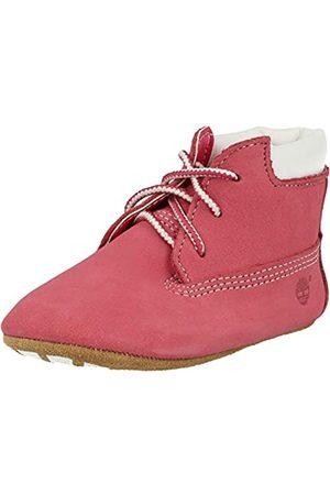 Timberland Unisex Baby Chukka Boots mit Hut , Pink (Medium Pink Nubuck)