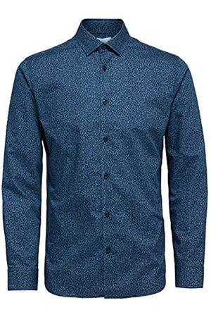 SELECTED Herren SHDONENEW-Mark Shirt LS STS Businesshemd
