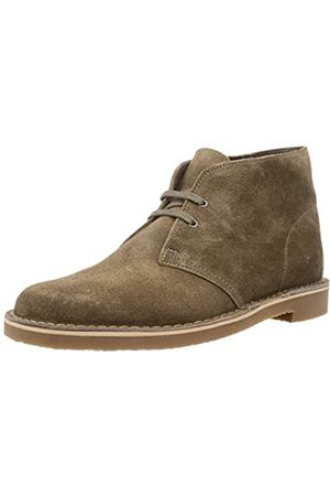 Clarks Herren Desert Boot Bushacre 3 Chukka-Stiefel, Sand Suede