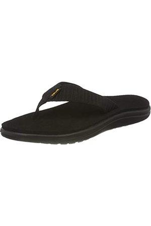 Teva Damen Voya Flip Sandal Womens Pantoffeln, (Bar Street Black Bsblc)