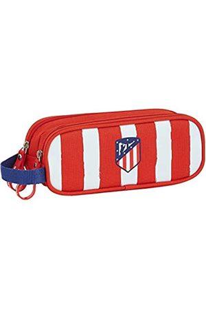 Safta Safta Atlético de Madrid Federmäppchen, Rot/Weiß/Blau