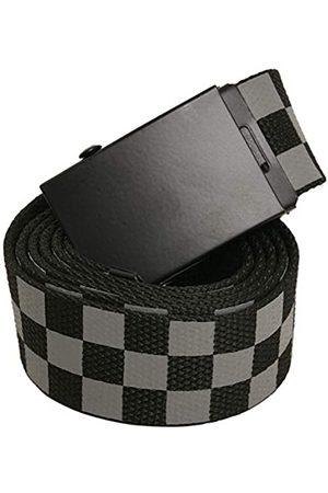 Urban classics Unisex Adjustable Checker Belt Gürtel