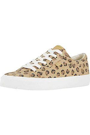 Keds Damen Jump Kick Leopard Sneaker, Blau (hautfarben)