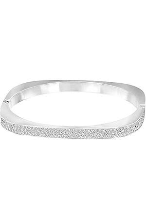 Swarovski Swarovski Damen-Armreif rhodiniert Kristall weiß 5121451