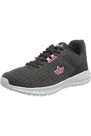 LICO Eliana Damen Sneaker, Anthrazit/ Pink